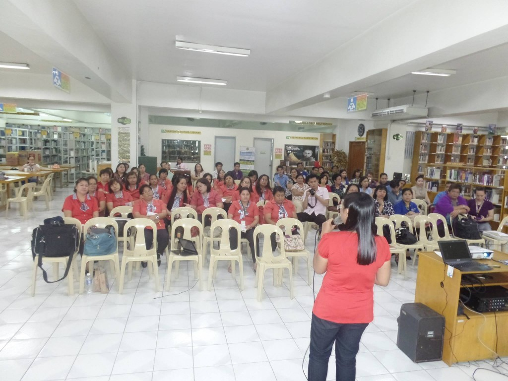 The Voice Care Queen Teaching Teachers of San Sebastian Cavite