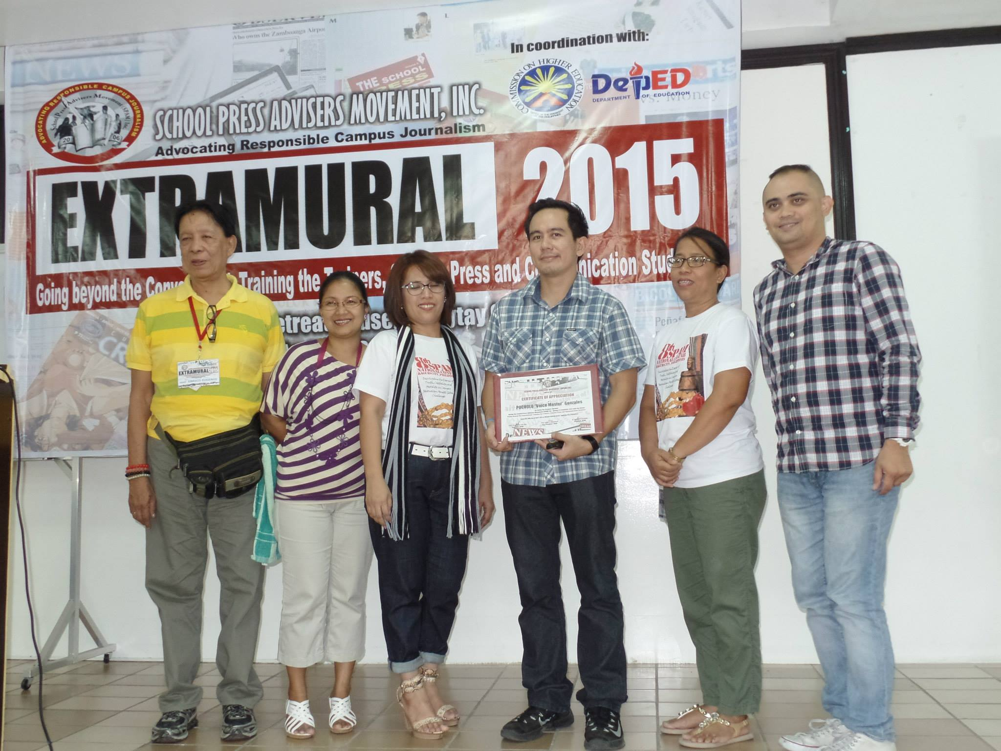 The VoiceMaster as Keynote Speaker in Extramural 2015