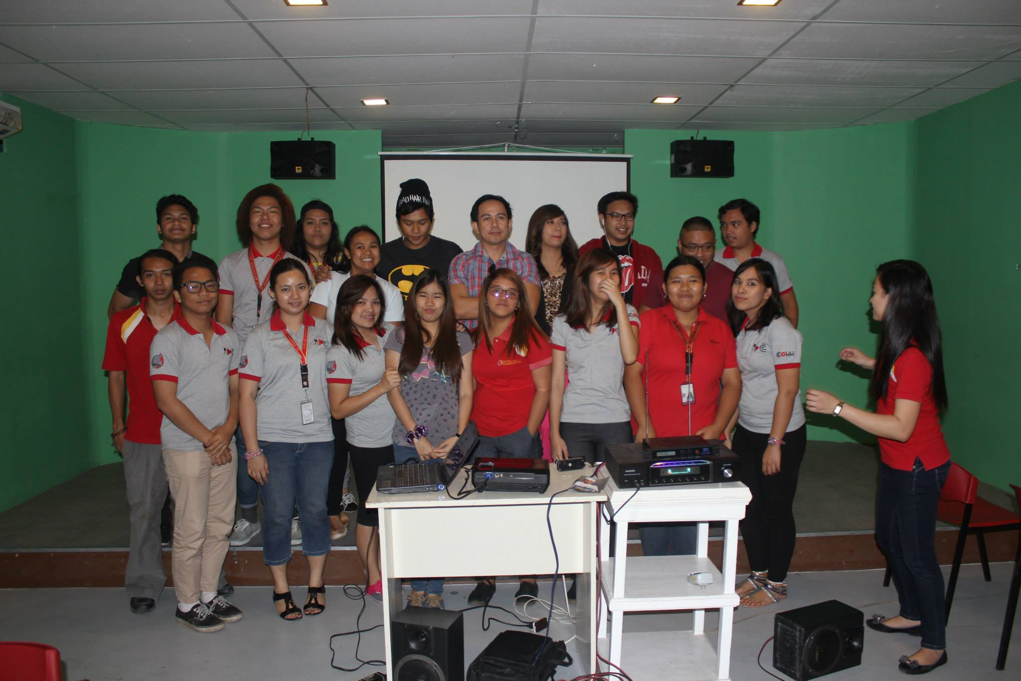Voiceworx Caravan in St Dominic College Cavite