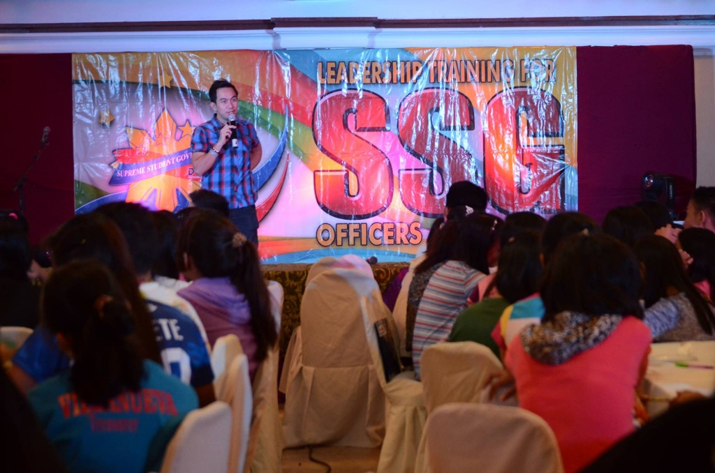 Leadership training for SSG Officers and Advisers in Iloilo