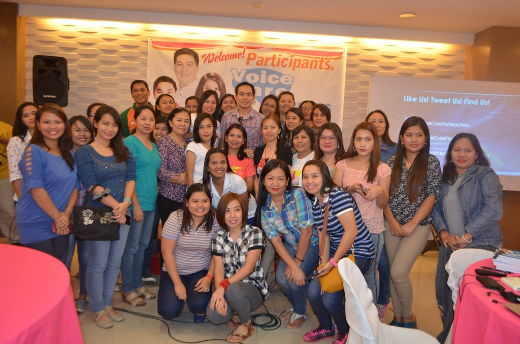 Voice Care for Teachers Workshop in San Jose del Monte Bulacan
