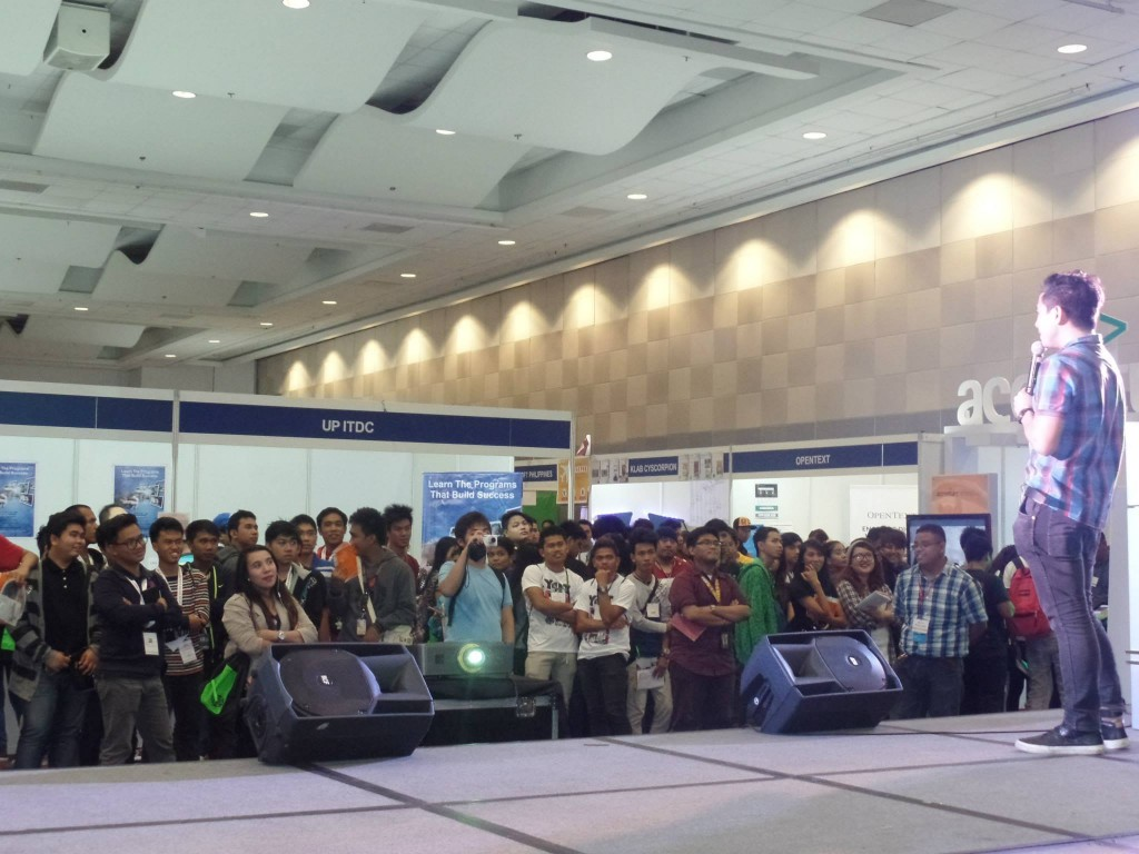 VoiceMaster at Y4IT 2015