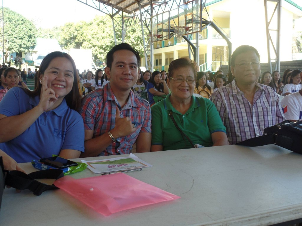 Gonzales Family Witnessing the VoiceMaster's Talk