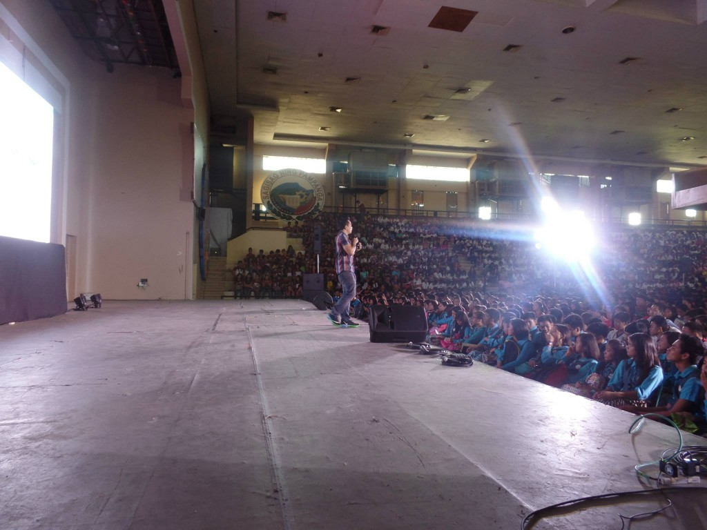 The VoiceMaster Inspiring 5000 Young Student Leaders in Central Luzon