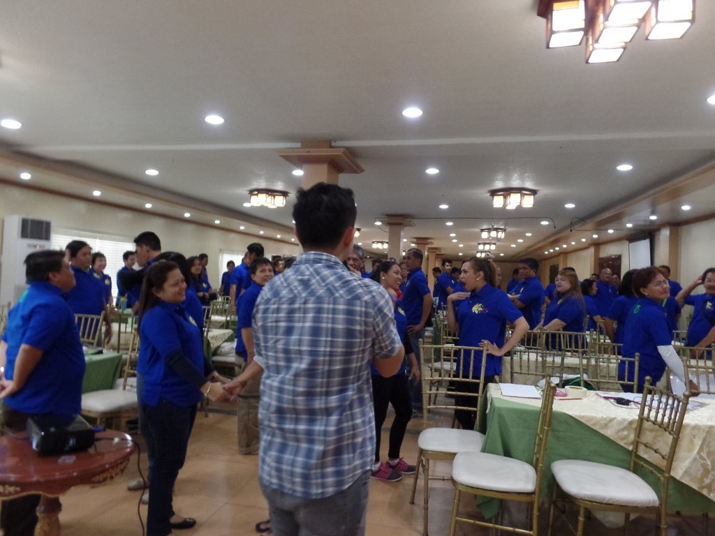 The VoiceMaster motivates Makati City Hall's Youth and Sports Development Department