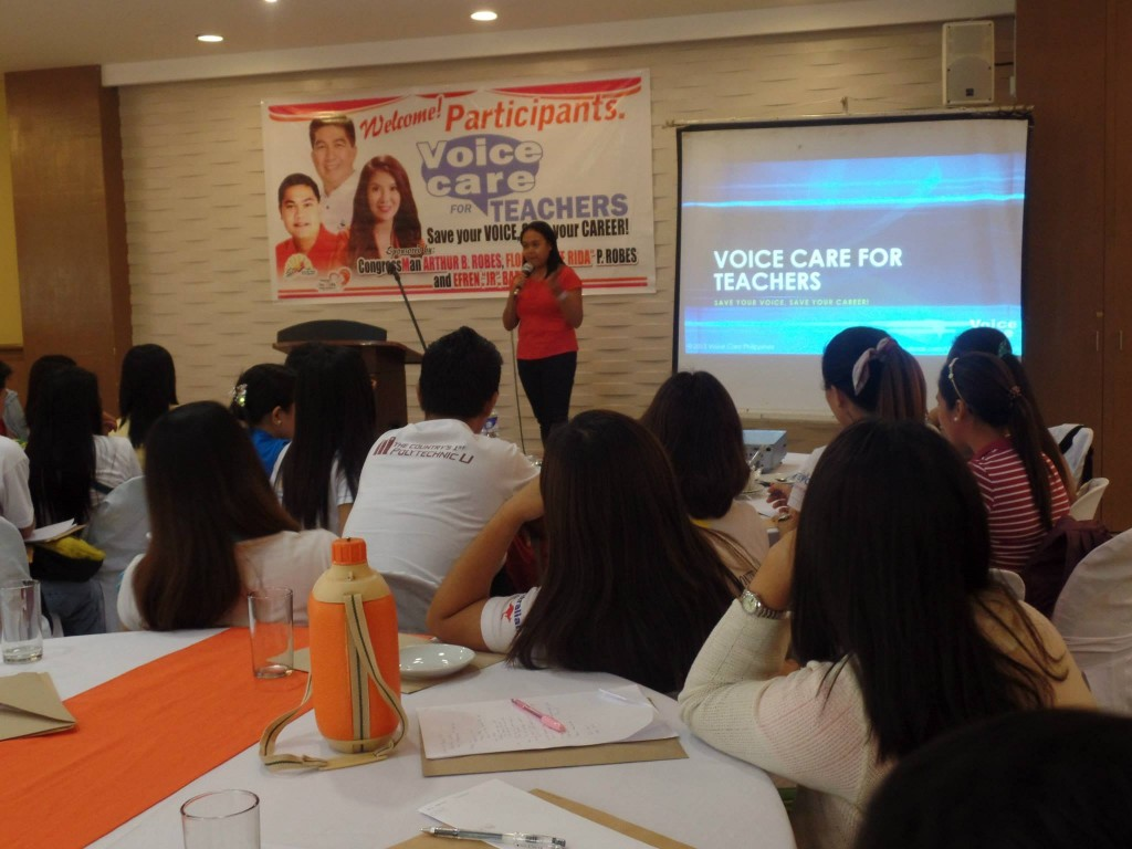 Voice Care Philippines Executive Director Ada Cuaresma on Voice Care