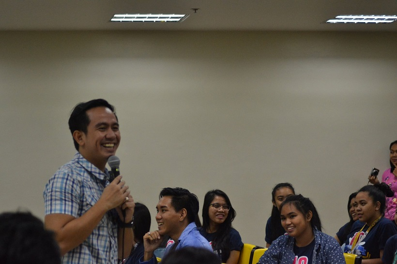 The VoiceMaster Speaks at UST Hosting Seminar
