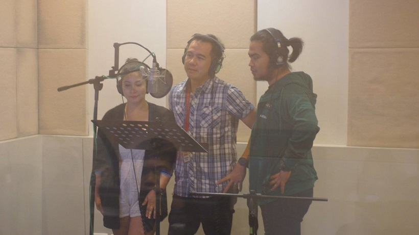 The VoiceMaster Dubbing Some Roles