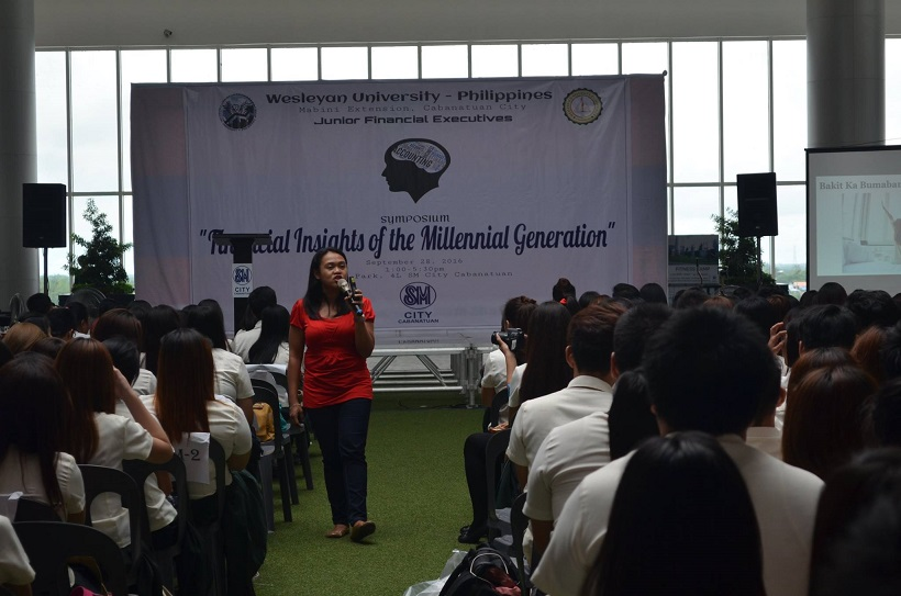 ada-cuaresma-speaks-at-the-jfinex-symposium-of-wesleyan-university-cabanatuan