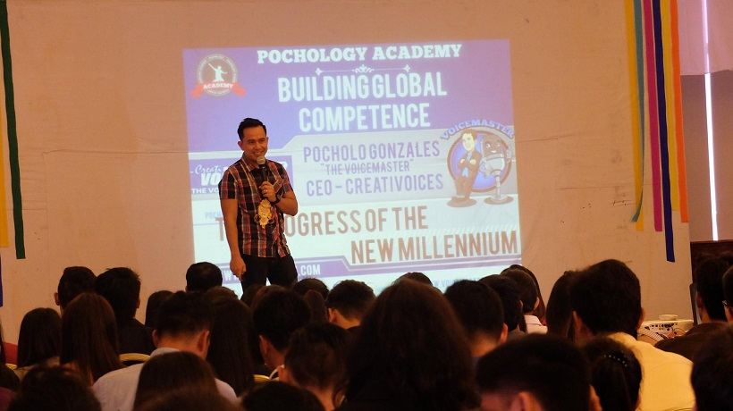 The Pochologist Inspires Business Management Students in