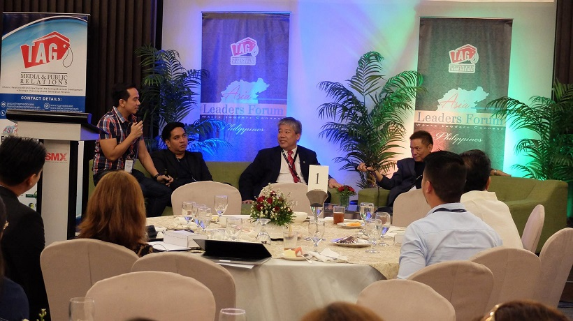 Filipino Motivational Speaker with speakers of Asia Leaders Forum Davao
