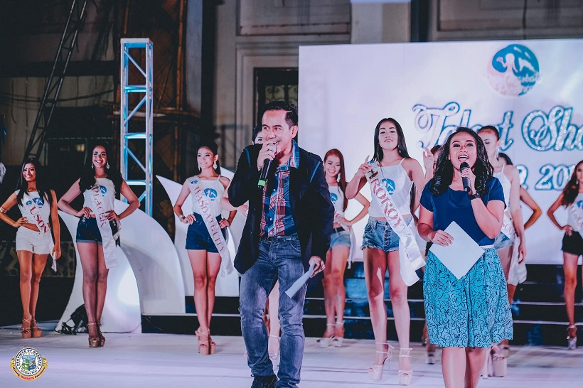 Filipino motivational speaker hosts Miss Masbate Province 2017 Talent Competition