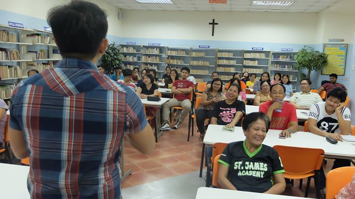 Filipino motivational speaker conducts In Service Training for St James Academy
