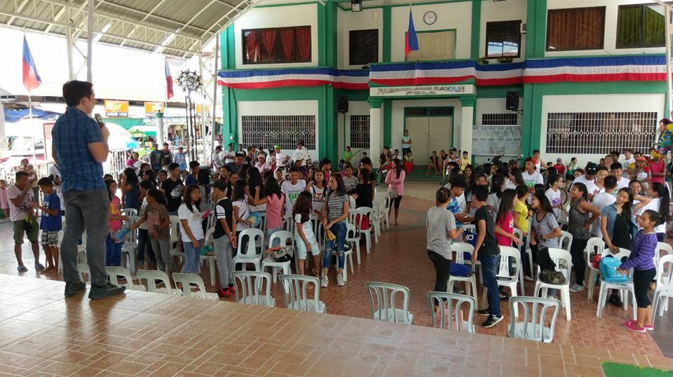 Filipino motivational speaker joins Pola Kabataan Day