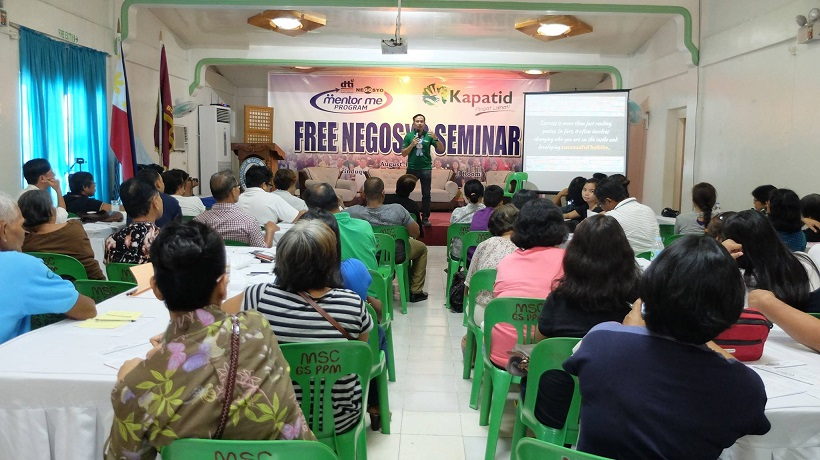 DTI Go Negosyo Kapatid Mentor Me Program in Marinduque