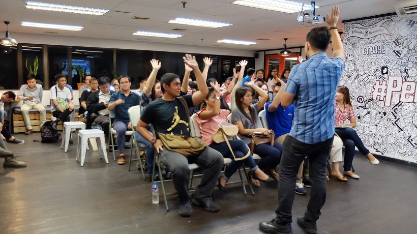 Filipino motivational speaker inspires the youth to build business with passion and purpose
