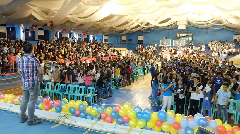 The VoiceMaster Speaks at Juan Big Idea in Isabela