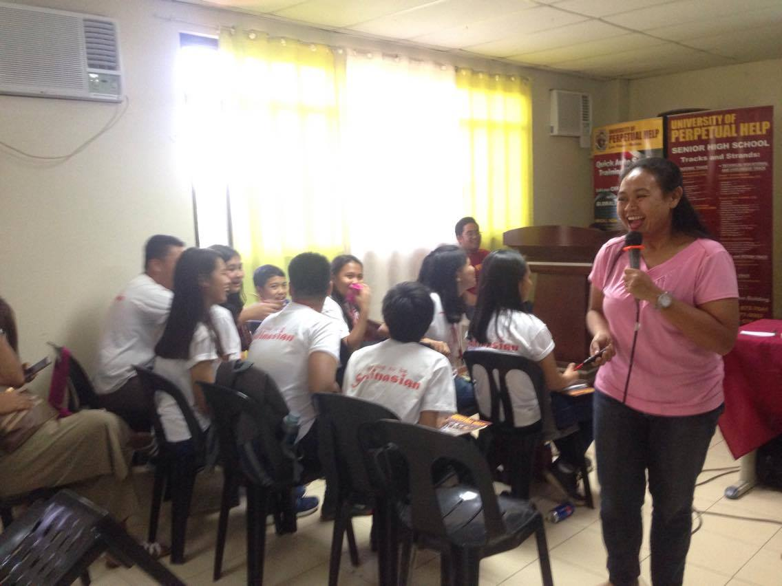Voice Care Queen Ada Cuaresma teaching Research and Interviewing