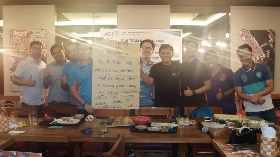 JCI Makati 2018 Declaration