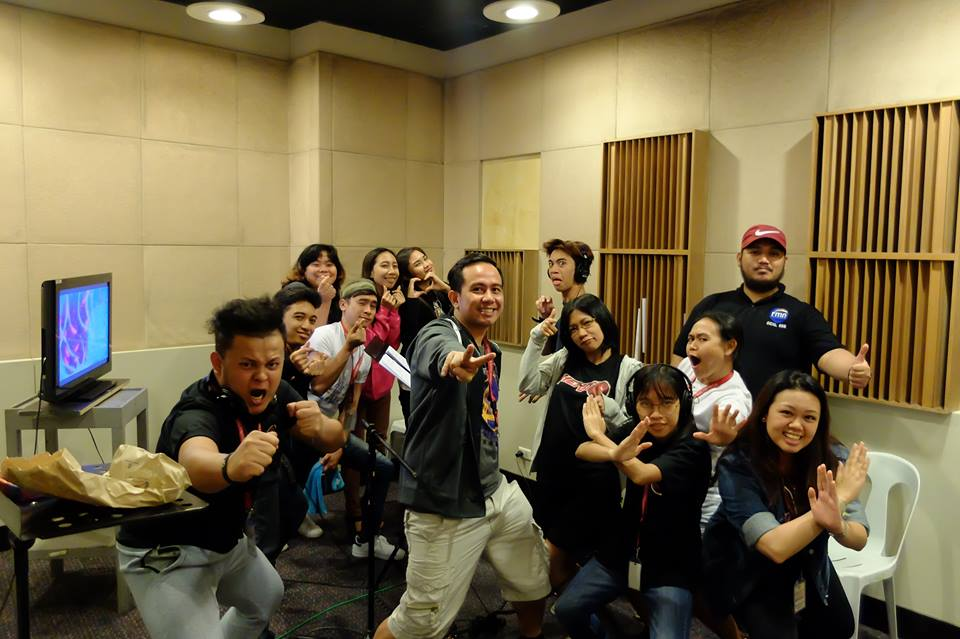 Voiceworx students dubbing for Hero TV