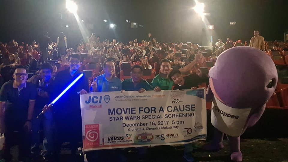 JCI Makati Star Wars special screening