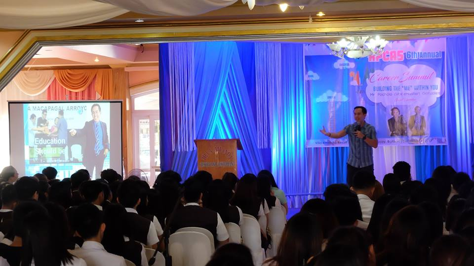 The VoiceMaster speaks about Personal Branding in the APCAS Annual Career Summit
