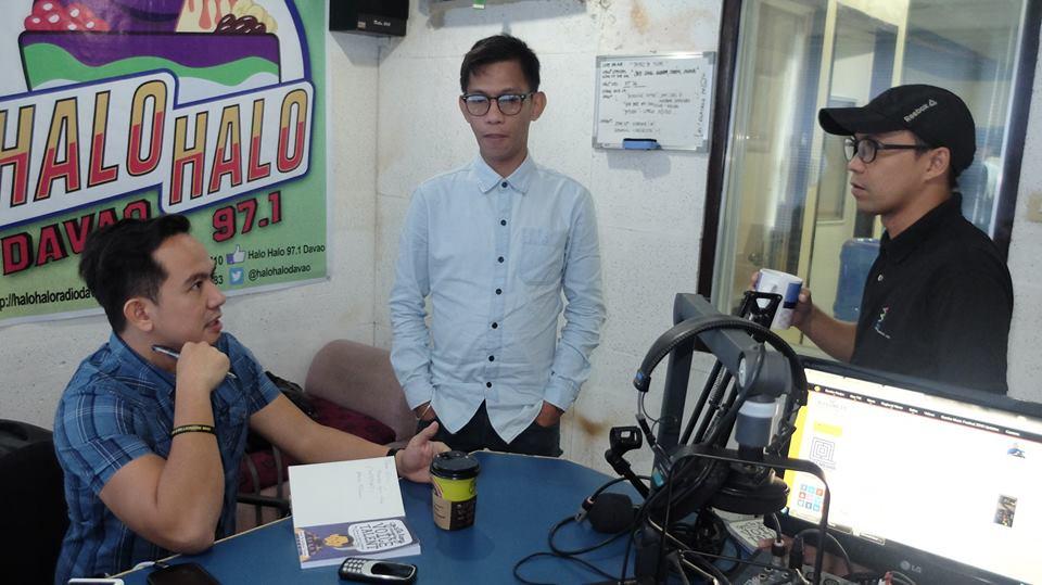 """The VoiceMaster with Creativoices Mindanao – Dino """"DJ Digong Guantes"""" Divino and Mon """"DJ Mon"""" Pillatura of Halo Halo FM Davao"""