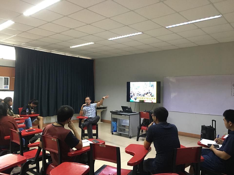 Proud DSCTA Alumnus Pocholo Gonzales speaks about Voice Empowerment during DSCTA Week