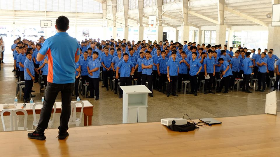 The VoiceMaster inspiring young boys to live a life of purpose
