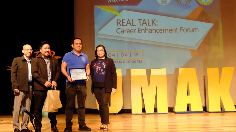 The VoiceMaster speaks at UMAK Career Enhancement Seminar