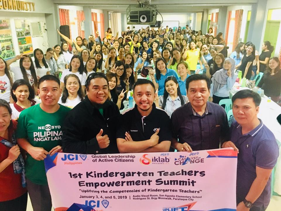 Final day of the summit with 2019 JCI Makati President Kurt Soliman